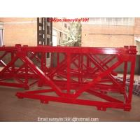 Buy cheap tower crane mast section 1.6m and 2.0m from wholesalers