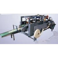 Buy cheap Right Angle Flat - Belt Paper Bag Forming Machine For Handbag Making 8KW from wholesalers