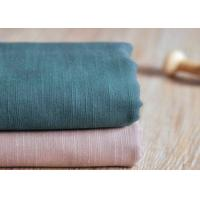 Buy cheap Slub Plain 100 Cotton Canvas / Semi - Bleached Dyeing Cotton Fabric from wholesalers