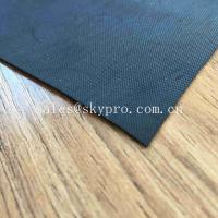 Buy cheap 1mm Black Waterproofing Neoprene Fabric Roll For Inflatable Boat Raincoat Rubberized Cloth product