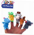 Buy cheap Velvet Animal Style Plush Finger Puppets , Funny Plush Animal Hand Puppets from wholesalers