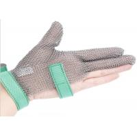 Buy cheap Butcher Anti Cutting Stainless Steel Gloves With Metal Plates , High Strength from wholesalers
