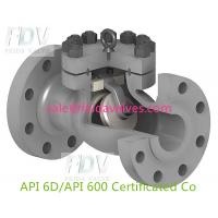 Buy cheap swing check valve A216 WCB class 150 300 600(sale@feidavalves.com) from wholesalers
