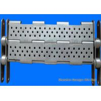 Buy cheap Punching Chain Plate Conveyor , Customized Design Steel Plate Conveyor from wholesalers