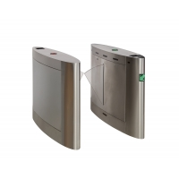 Buy cheap Soft Wing Direct Drive Motor RS485 Waist Height Turnstiles from wholesalers