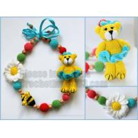 Buy cheap Teething necklace,Breastfeeding Necklace for Mom,Teething toy, pistachio necklace, Nursing necklace from wholesalers