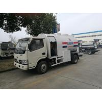 Buy cheap 5.5CBM Small Propane Cylinder Truck , 2 Tons Mobile Lpg Truck Tanker from wholesalers