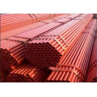 Buy cheap Construction Galvanized Scaffolding Pipe Tube Hot Dipped Scaffold Parts Quick Erect product