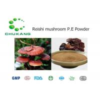 Buy cheap Reishi Mushroom Plant Extract Powder Polysaccharide 10%  25% Herbal Ingredients from wholesalers
