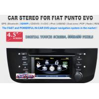 Buy cheap Car Stereo for FIAT Punto Evo GPS SatNav DVD Player Headunit Radio Multimedia, Fiat Punto from wholesalers