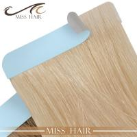 Buy cheap 100% Remy cuticle hair tape weft from wholesalers