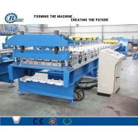 Buy cheap PLC Control Commercial Rolling Form Machine For Metal Roofing Panel from wholesalers