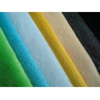 Buy cheap Polyester Velboa Uphostery Fabric from wholesalers