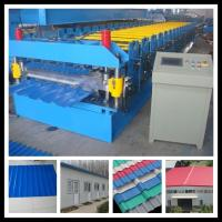 Buy cheap double layer roof sheet profile machine from wholesalers