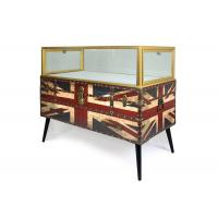 Buy cheap Nordic Style Digital Products Showcase / Phone Display Cabinet Luxurious Glass Material product
