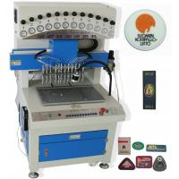 Buy cheap ZY-G08  hot sale 12 color PVC trademark liquid drip machine from wholesalers