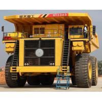 Buy cheap Four Wheel Mining Dump Truck / Mining Dumper Truck For Heavy Load Working Condition from wholesalers