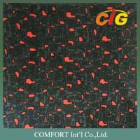 Buy cheap 100% Polyester 150cm Width Car Seat Auto Upholstery Fabric With 3mm 4mm Foam Backing product