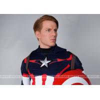 Buy cheap Captain America Waxwork Waxfigure Sculpture Life Size Movie Statues from wholesalers