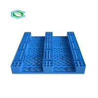 Buy cheap HDPE Reinforced Plastic Pallets 3 Skid Runners Recycled Sturdy Construction product