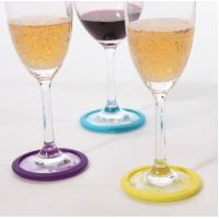 Buy cheap New hottest sale tiny cats silicone wine glass wine lives wine markers from wholesalers
