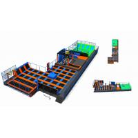 Buy cheap 858M2 Commercial Amusement Trampoline Park with Climbing Wall/ Trampoline Park Made in China from wholesalers
