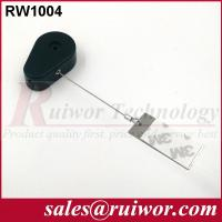 Buy cheap RUIWOR RW1004 Drop-shaped Retractable Tether with Gluey Dog Tag End from wholesalers