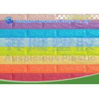 Buy cheap Mixed Color 3D Self Adhesive Brick Foam Wallpaper / Panel Heat Isolation For Bedroom from wholesalers