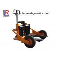 Buy cheap Outdoor Warehouse Material Handling Equipment 1T Terrain Pallet Truck With Air Rubber Wheel from wholesalers