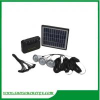 Buy cheap High quality, high lumence, cheap price portable solar lighting kits / solar lighting system for home, camping etc from wholesalers