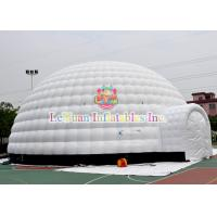 Buy cheap Giant Inflatable Igloo Tent For Event , Unseal Inflatable Advertising Tent For Sale from wholesalers