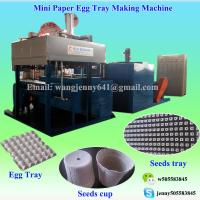 Buy cheap 2017 CE fully automatic paper pulp egg carton tray making machine from wholesalers
