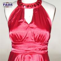 Buy cheap Women fashion sexy satin casual wrap women ladies dress woman clothes with high quality from wholesalers