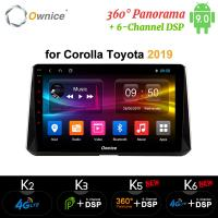 Buy cheap Ownice Android 9.0 GPS Navi 360 Panorama car DVD radio player for Toyota Corolla 2019 from wholesalers