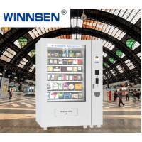 Buy cheap Chocolate Bar Cola Mix Selling Food Vending Machine Kiosk With Touch Screen from wholesalers