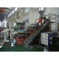 Buy cheap Multi - Screw PVC Plastic Pelletizing Machine + Single Screw Extruder Insulate With Good Foam from wholesalers