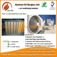 Buy cheap Aluminum foil laminated fiberglass air conditioning duct insulation from wholesalers