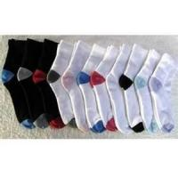 Buy cheap 75% cotton, 23%polyeaster, 2% elastic 168N Half full men Terry Loop Socks from wholesalers