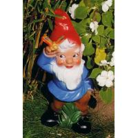 Buy cheap Happy guitar player resin garden gnome figure from wholesalers