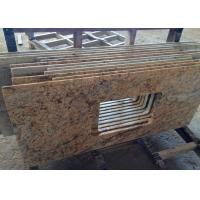 Buy cheap Single Sink Granite Vanity Tops / High Polish Granite Tile Countertop from wholesalers