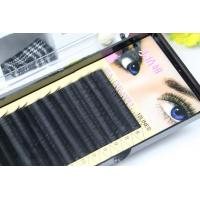Buy cheap Premium Long Lasting Eyelash Individual Extensions For Beauty Salon 10mm In Three Rows from wholesalers