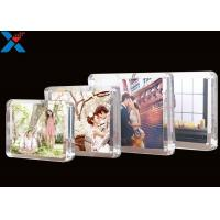 Buy cheap Clear Magnet Acrylic Photo Frame PMMA Certificate Pictures Table Frame product