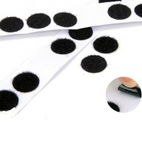 Buy cheap ROSH Nylon Polyester Film Hook And Loop Dots 110mm Width from wholesalers