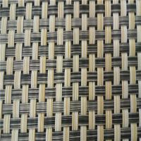 Buy cheap Pvc Coated Textiline Fabric , Breathable Mesh Fabric Woven Polyester Material from wholesalers
