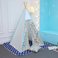 Buy cheap Parent-child toy cotton canvas teepee tent from wholesalers