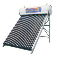 Buy cheap 20 vacuum tubes heat pipe solar water heater for family use from wholesalers