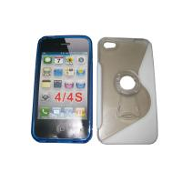Buy cheap Durable Silicone Phone Cases, Heat-Resisting Customized Silicone Phone Covers For Iphone 5 from wholesalers