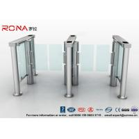 Quality Swing Barrier Gate Pedestrian Security Gate Visitor Entry Access Control For Office Building With CE approved for sale