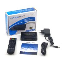 Buy cheap FREESAT V7HD DVB-S2 satellite receiver IPTV USB wifi support biss,patch and key edit from wholesalers