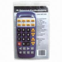 Buy cheap Universal remote control used for TV/VCR/DVD/SAT/HIFI instead of many brand remote controls from wholesalers